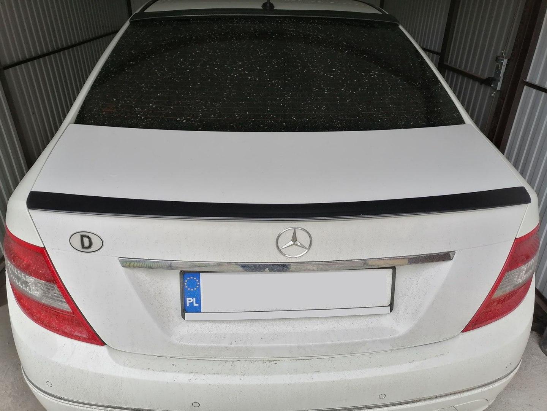 Lotka Lip Spoiler - Mercedes-Benz C-Class W204 08-13 - GRUBYGARAGE - Sklep Tuningowy